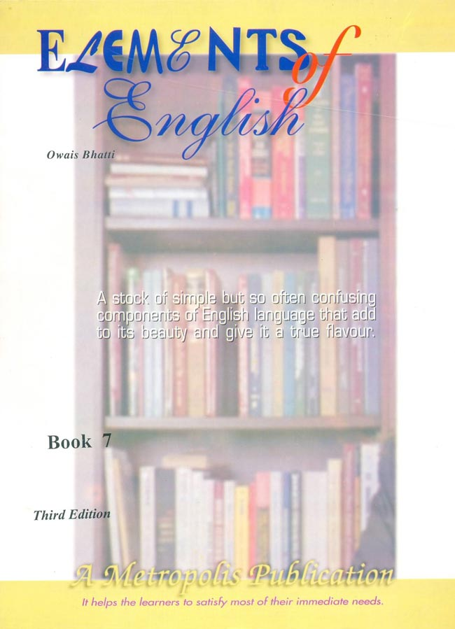 Elements of English Book for class VII