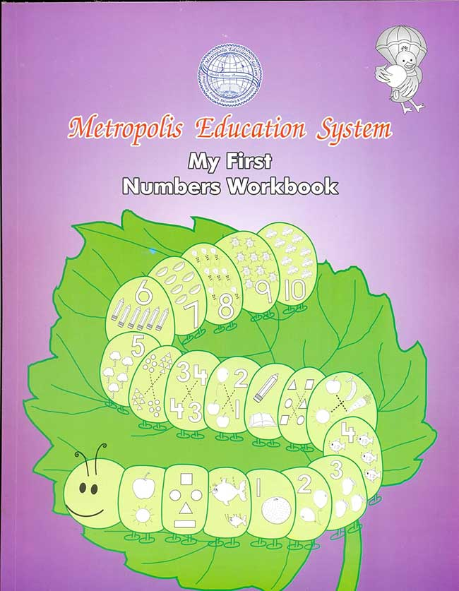My First Number Workbook for Nursery Students